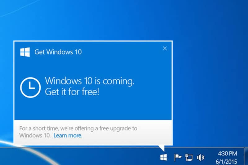 windows 10 mise à jour obligatoire