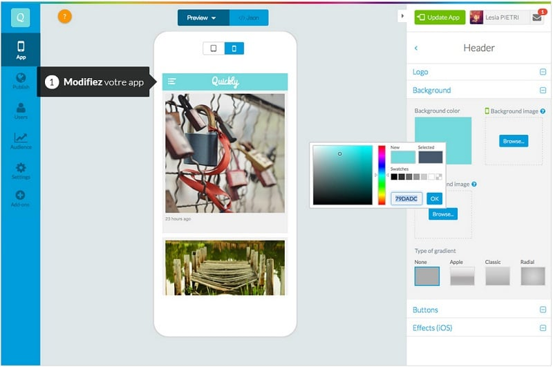Creer app mobile Android sans coder 2