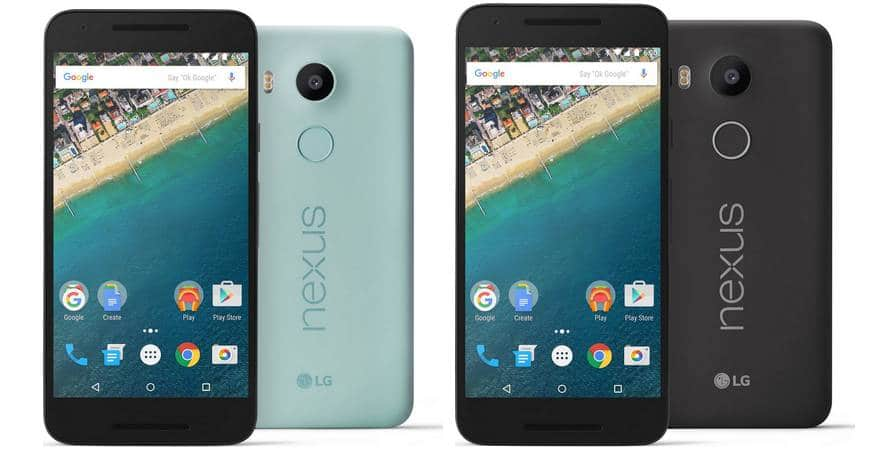 Google Nexus 5X officiel