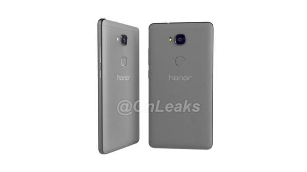 Honor 7 Plus gris