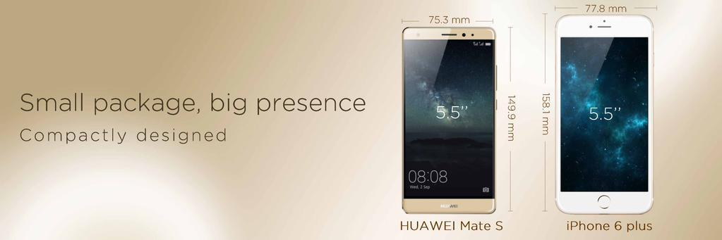 Huawei Mate S iPhone 6 Plus