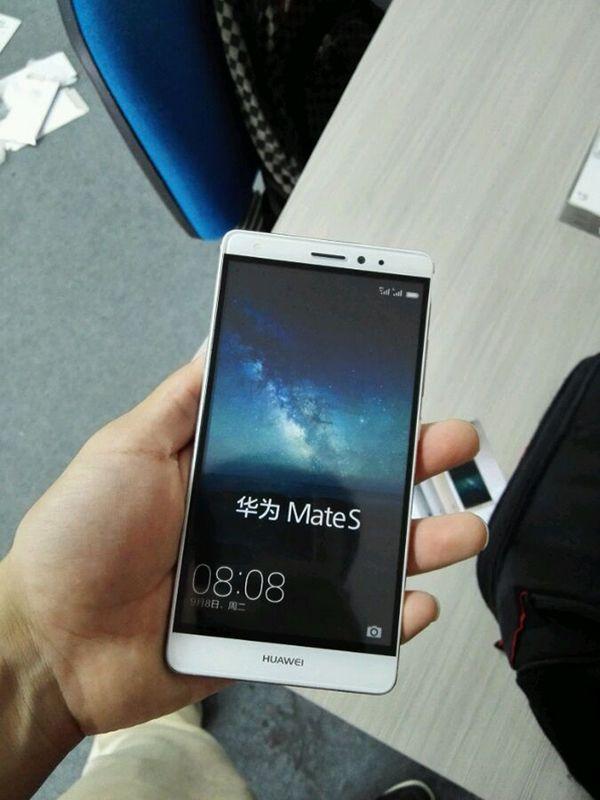 Huawei Mate S ecran