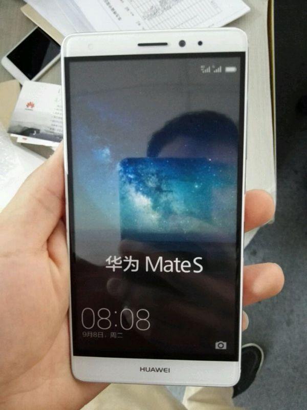 Huawei Mate S face