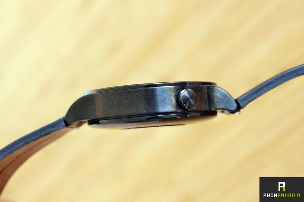 huawei watch bouton
