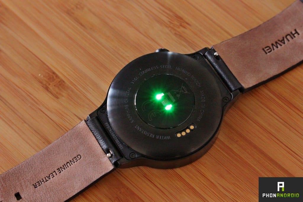 huawei watch capteur frequence cardiaque