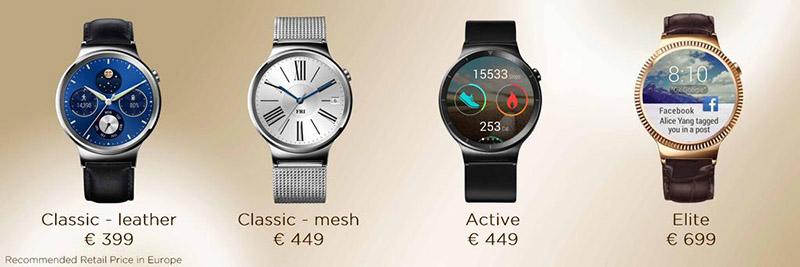 huawei watch disponibilite prix