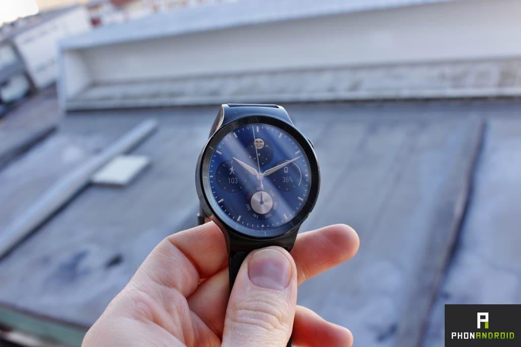 huawei watch ecran