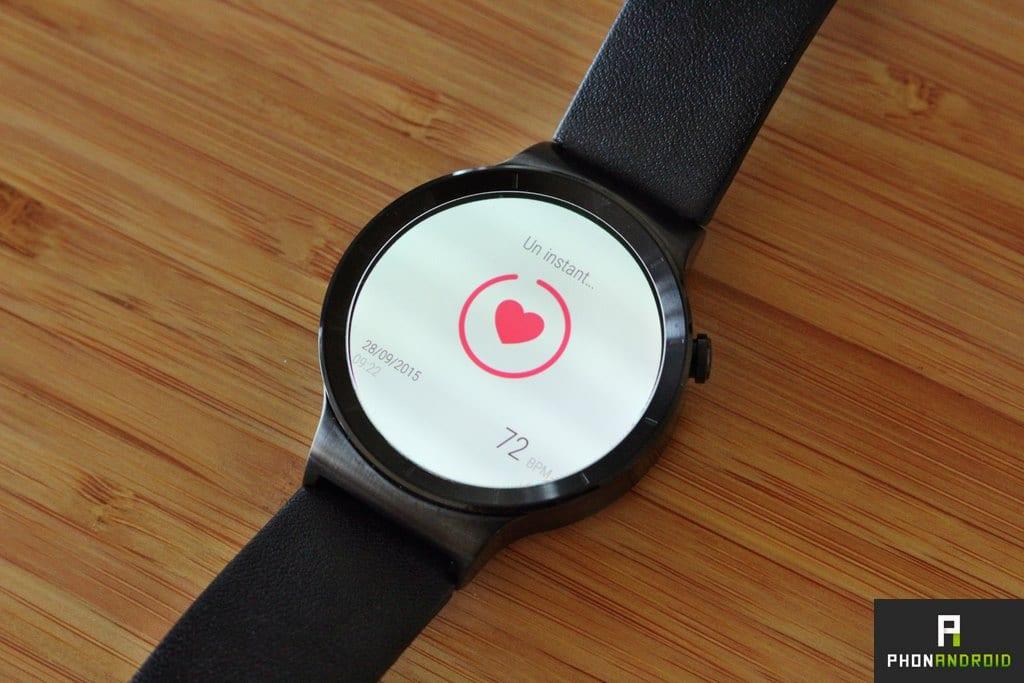 huawei watch frequence cardiaque