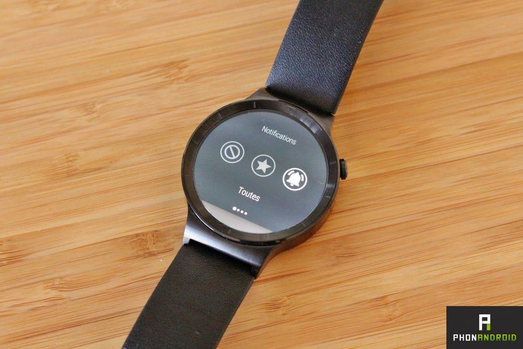 huawei watch notifications prioritaires