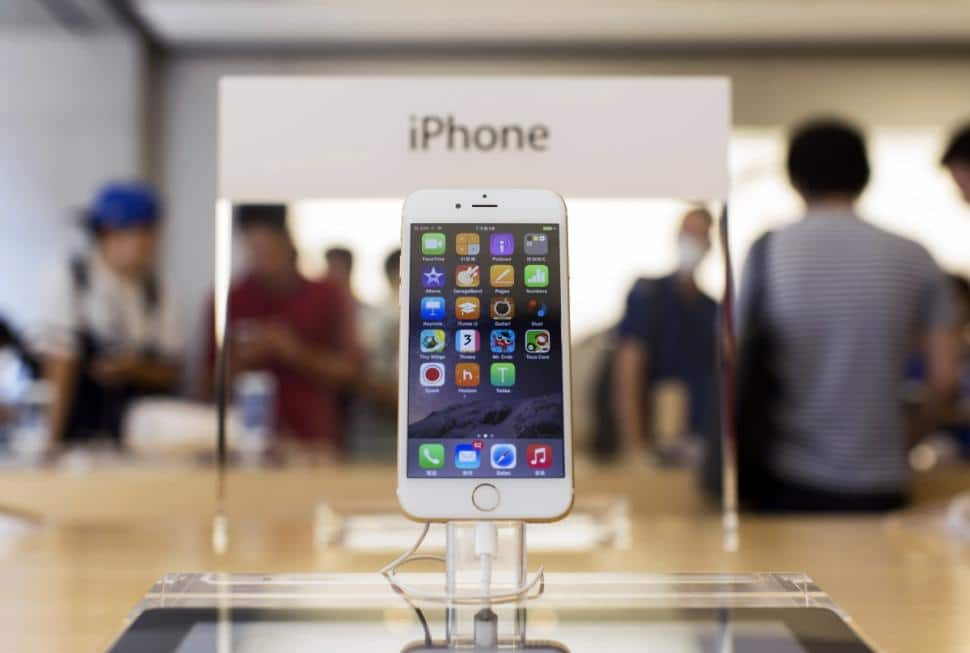 iphone 6s ecraser concurrents android