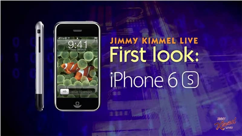 iphone 6s jimmy kimmel troll grand art