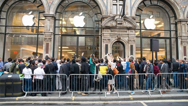 iPhone 6S lancement Apple Store