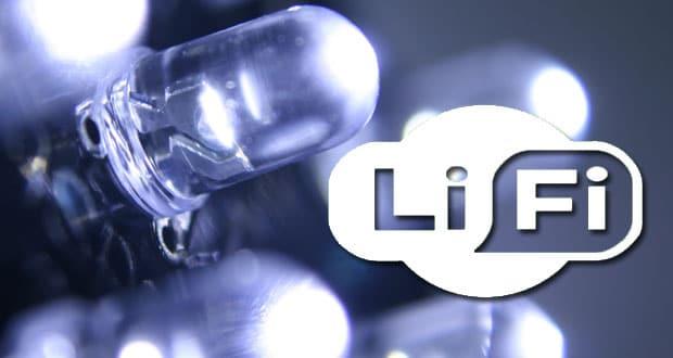 Li-Fi Internet lumière