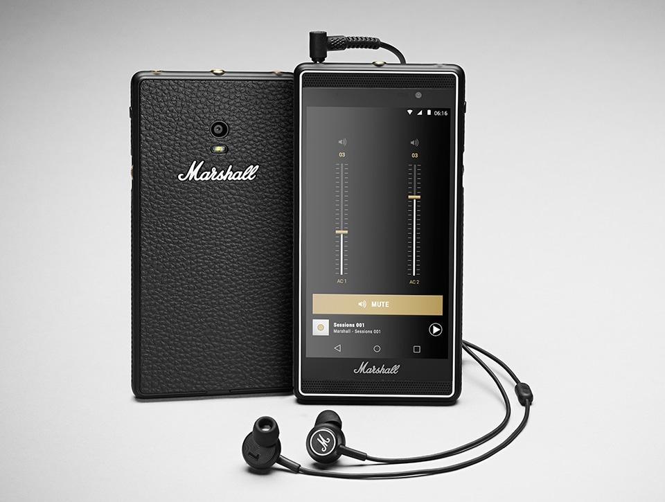 marshall london smartphone musique
