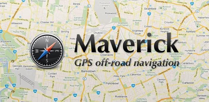Maverick GPS navigation hors-connexion