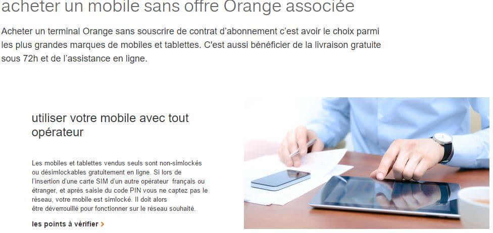 mobile debloque orange