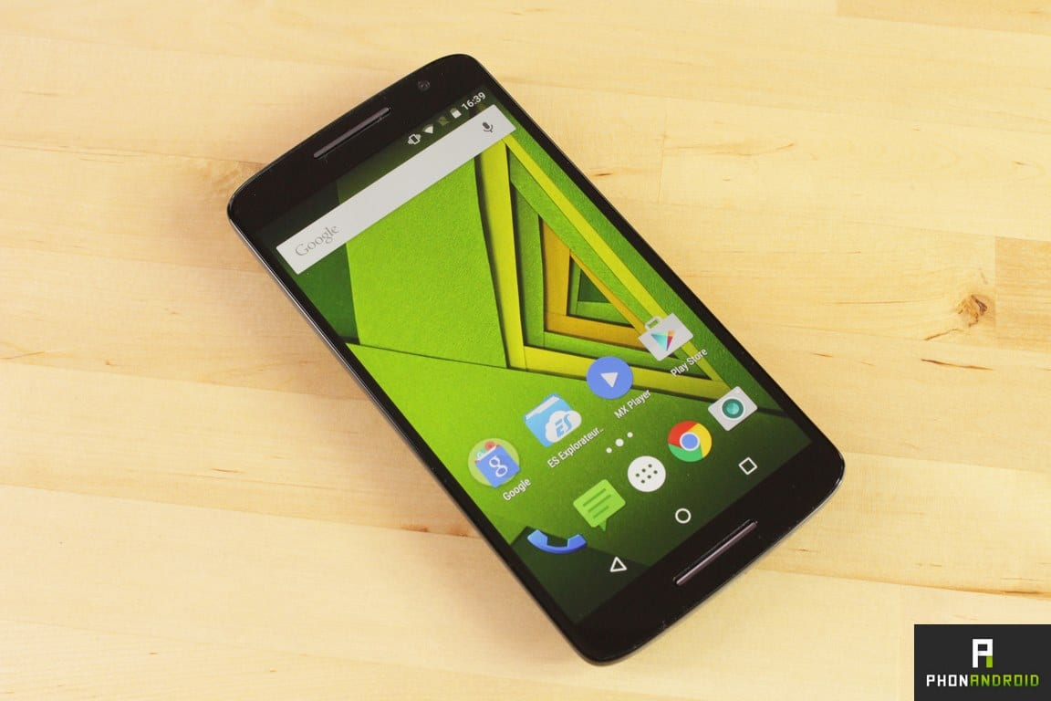 moto x play test