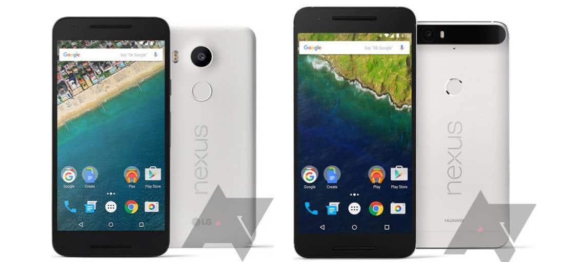 Nexus 5X 6P prix