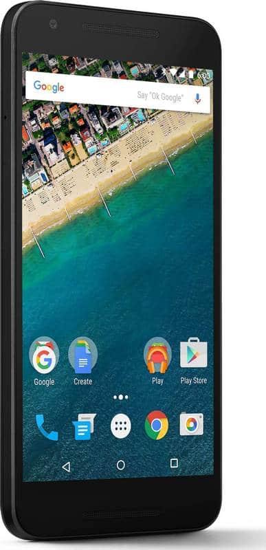 Nexus 5X ecran