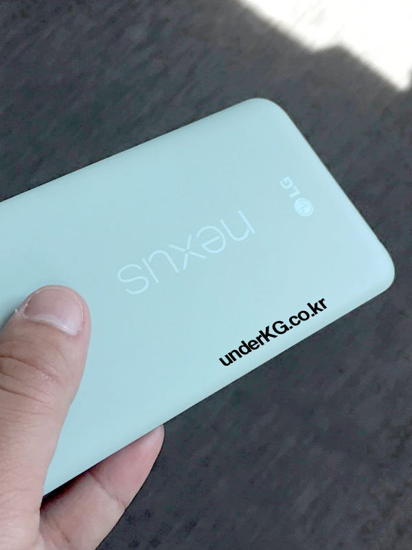Nexus 5X blanc dos