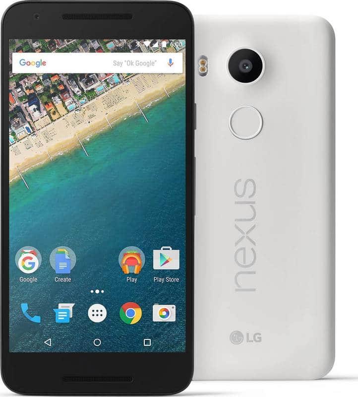 Nexus 5X blanc