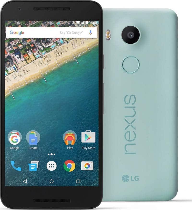 Nexus 5X bleu