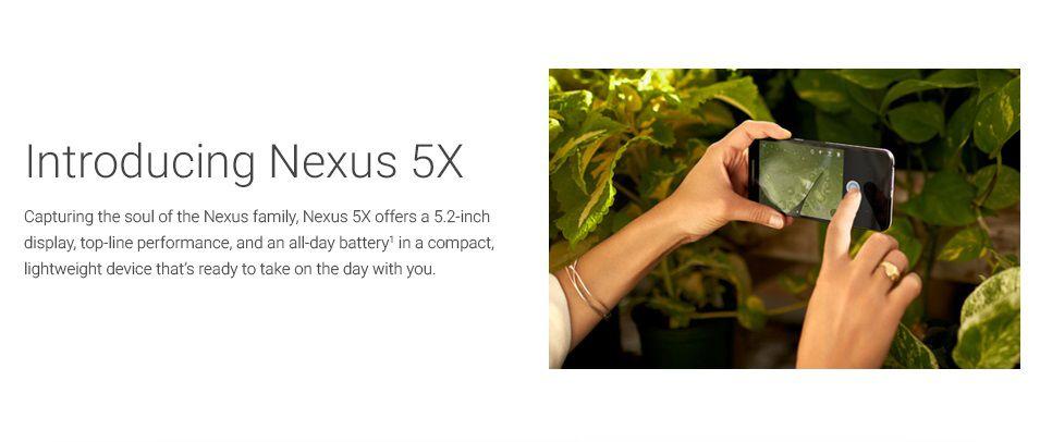 Nexus 5X presentation