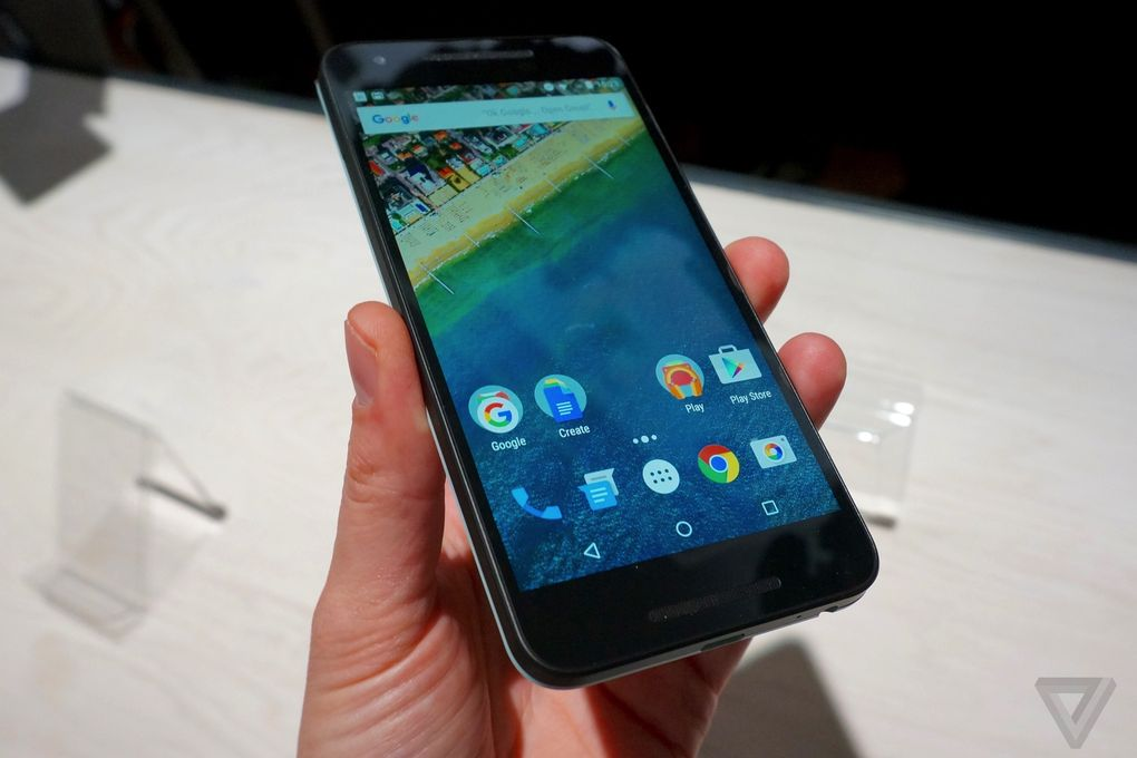 prise en main Nexus 5X