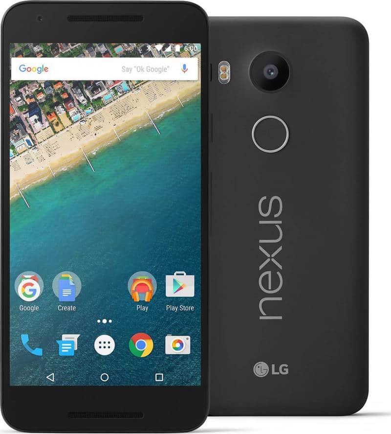 Nexus 5X noir