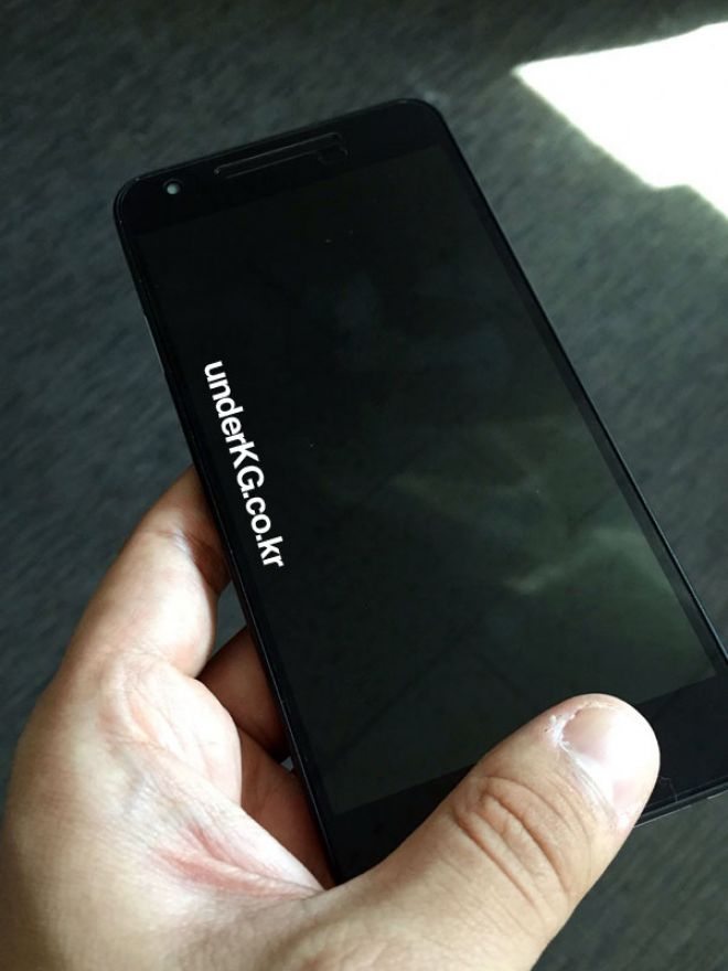 Nexus 5X face