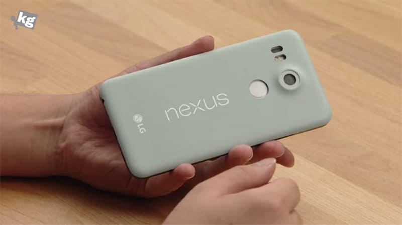 nexus 5x prise en main video