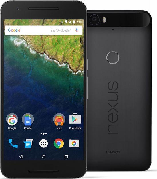 Nexus 6P noir