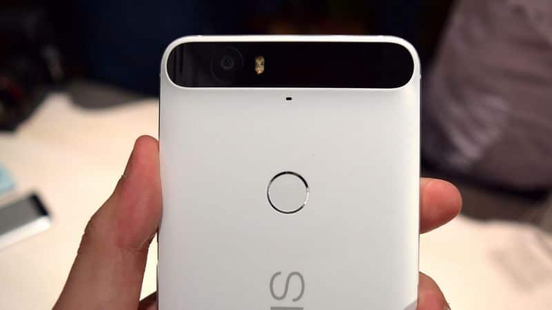 Nexus 6P barre noire