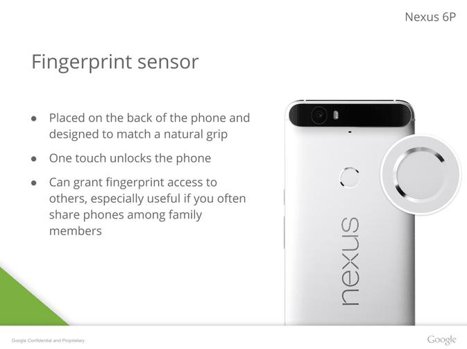 Nexus 6P lecteur empreintes