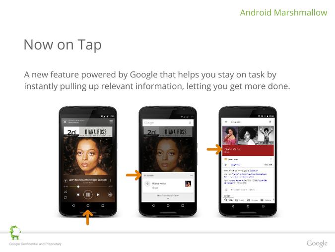 Nexus 6P Now on tap