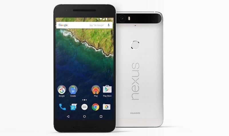 Nexus 6P officiel recto-verso