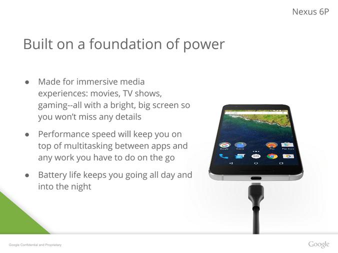 Nexus 6P performances