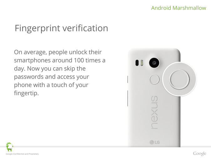 Nexus 6P securite