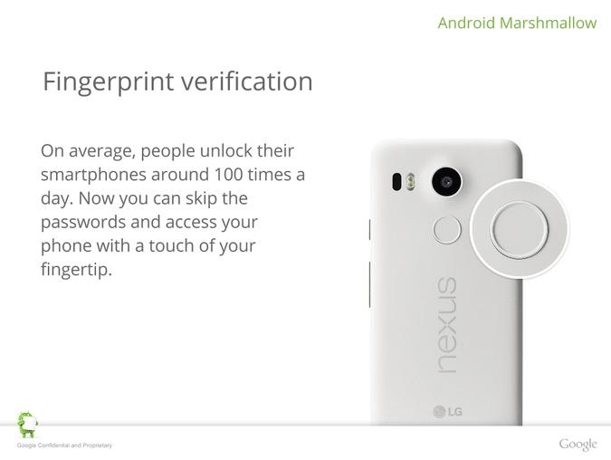 Nexus 6P securite
