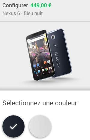 Nexus Google Play
