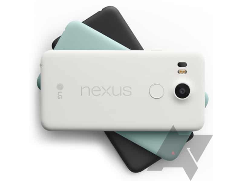 nexus 5x photo couleurs
