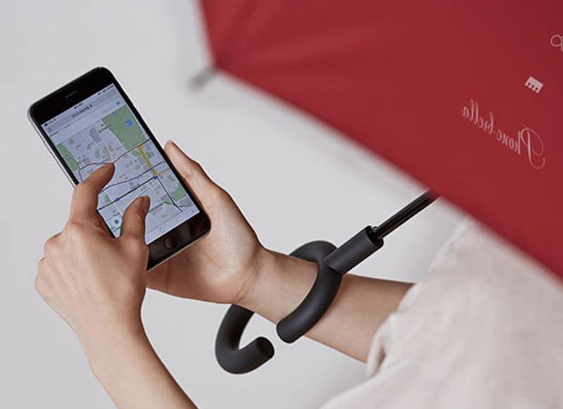 phonebrella parapluie smartphone