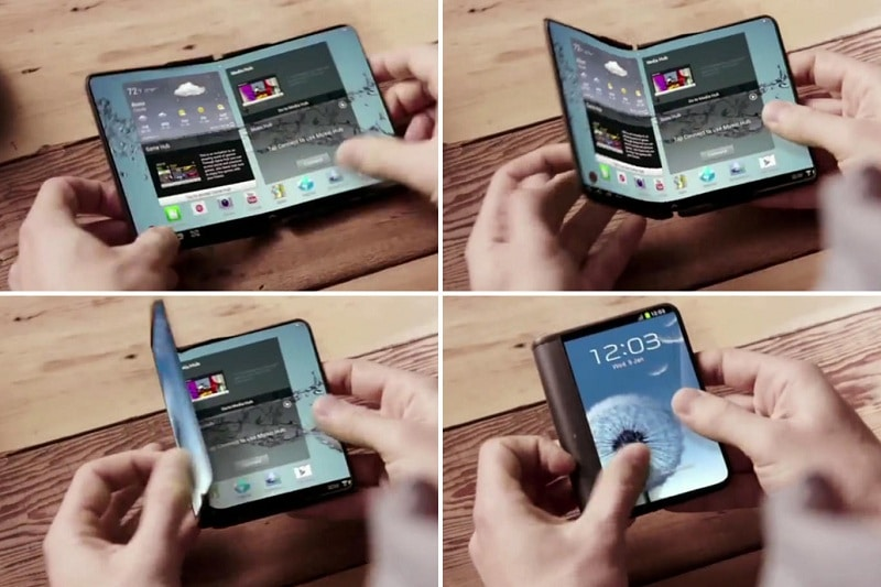 Samsung ecran pliable