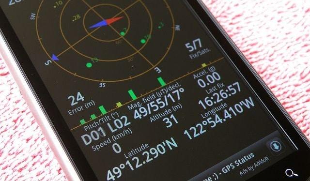 smartphone seisme