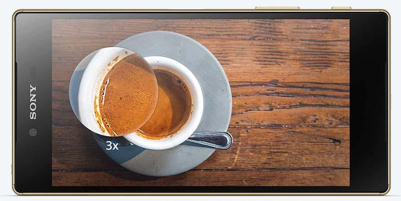 sony xperia z5 premium ecran 4k