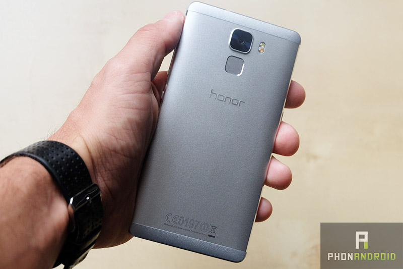 test honor 7 design dos