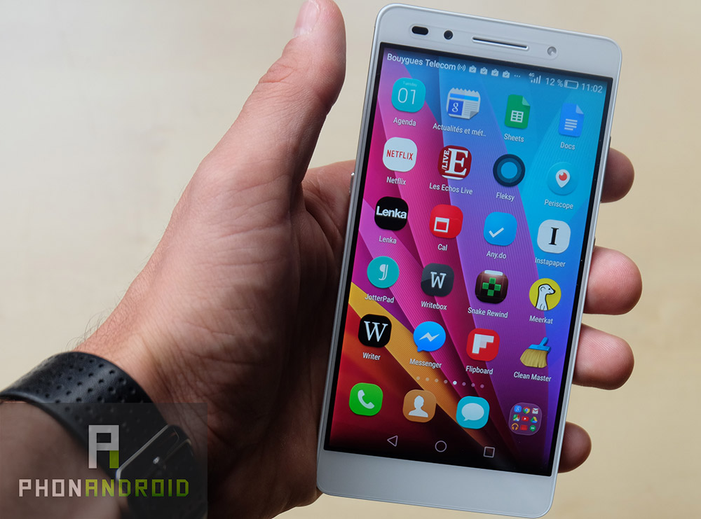 test honor 7 interface