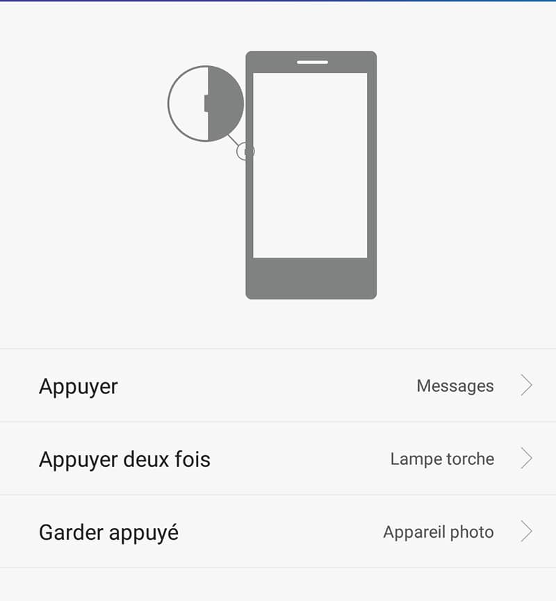 tuto honor 7 configurer touche intelligente