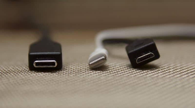 USB Type C vs lightning vs USB Type A