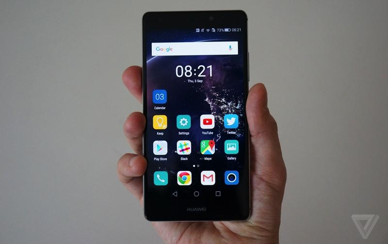 Huawei Mate S prise main IFA